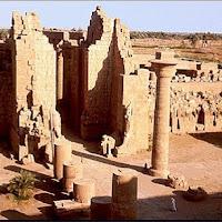 35.- Sala hipóstila del templo de Karnak