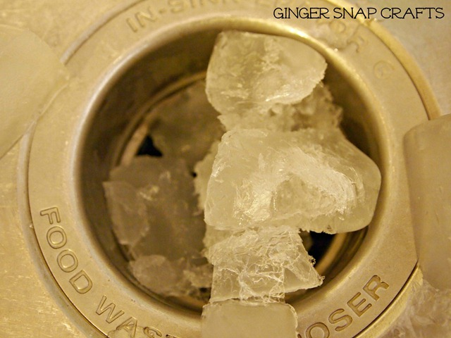 cleaning your garbage disposal with vinegar