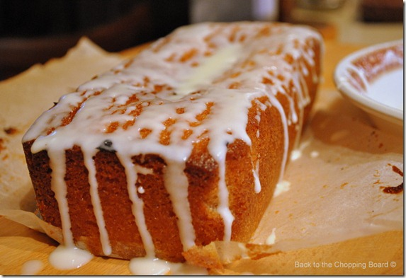 Frosted Marmalade Cake