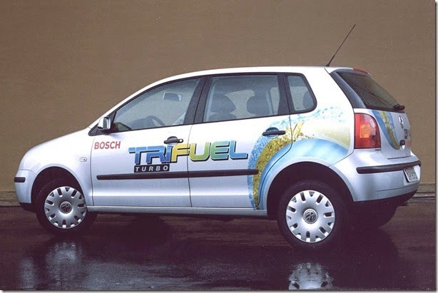 17.11.2004 - Rogério Louro - CA - Exclusivo - Volkswalgen Polo Tri Fuel Turbo