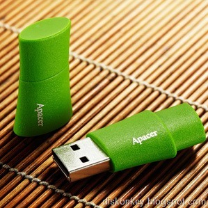 Bamboo USB flash drive 1