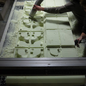 The Wall-fabricacion class molding &amp; casting MAA 2012