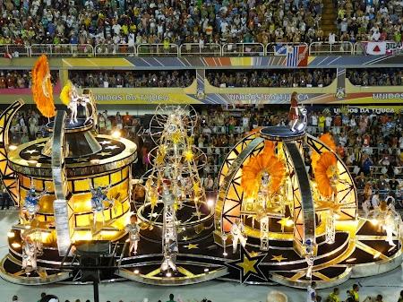 Carnavalul de la Rio: Carele alegorice