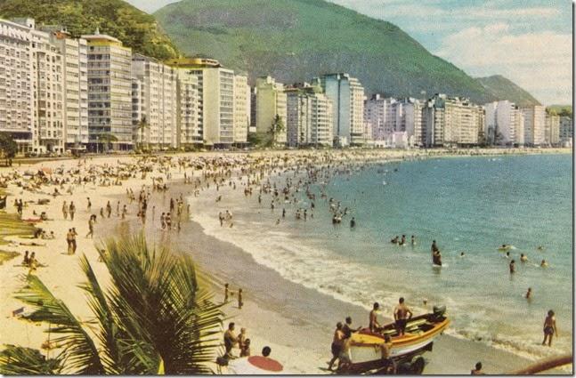 Copacabana Beach, Rio de Janiero, Brazil Postcard pg. 1