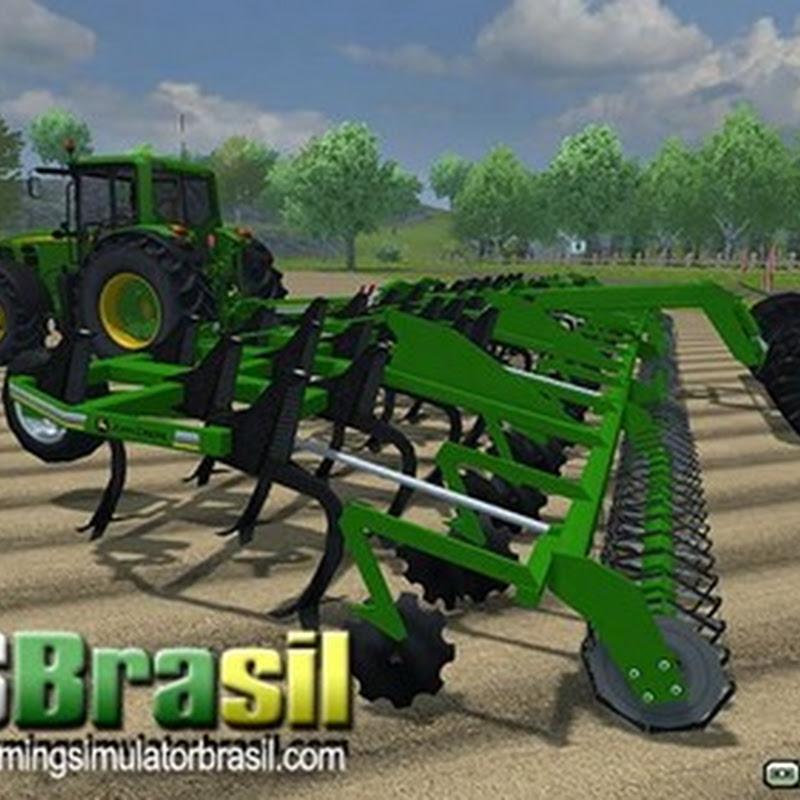 Farming simulator 2013 - Cultivador John Deere Terrano 12FX v 1.1