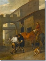 johannes_lingelbach__hendrick_verschu-horsemen_and_their_dogs_resting_in_a_~OM8f7300~10001_20070704_14705_50