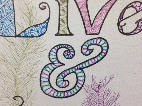 Zentangle Detail