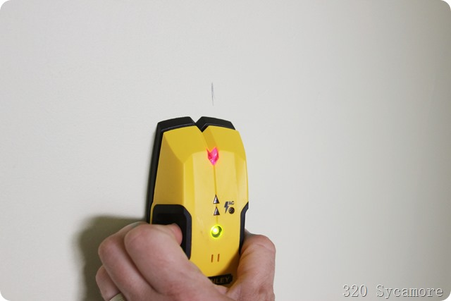 use a stud finder