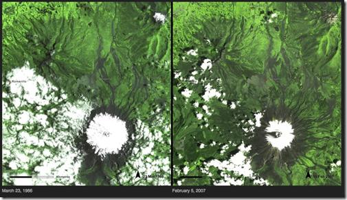El derretimiento del hielo - Ecuador