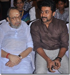 Vaali, Surya at Actor Mirchi Shiva Wedding Reception Photos