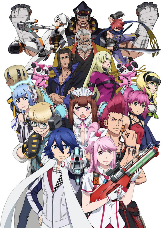 Gunslinger Stratos - anime