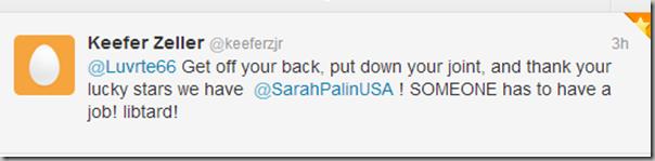 Palinbot tweet