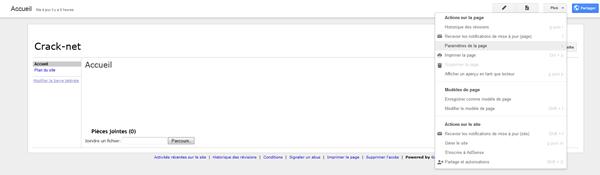 Google site tuto