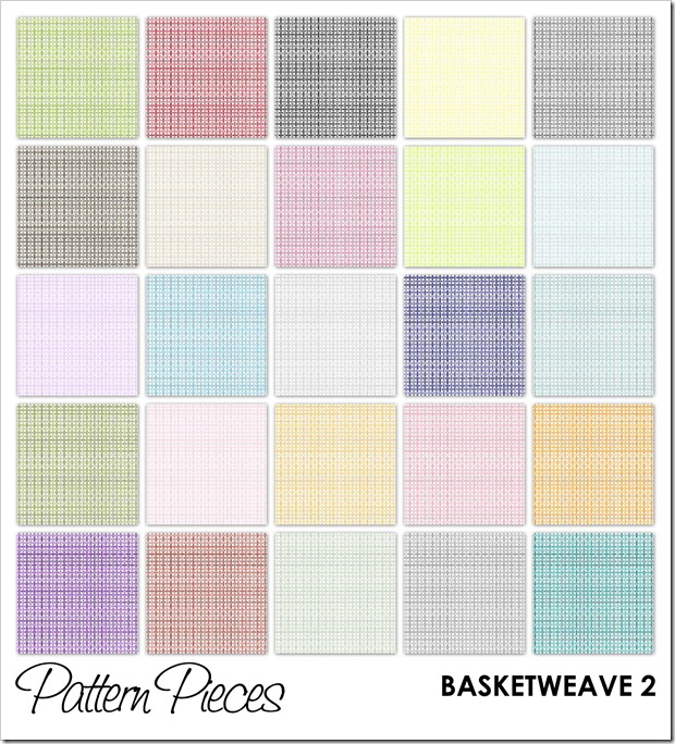 IMAGE - Pattern Pieces - Basketweave 2