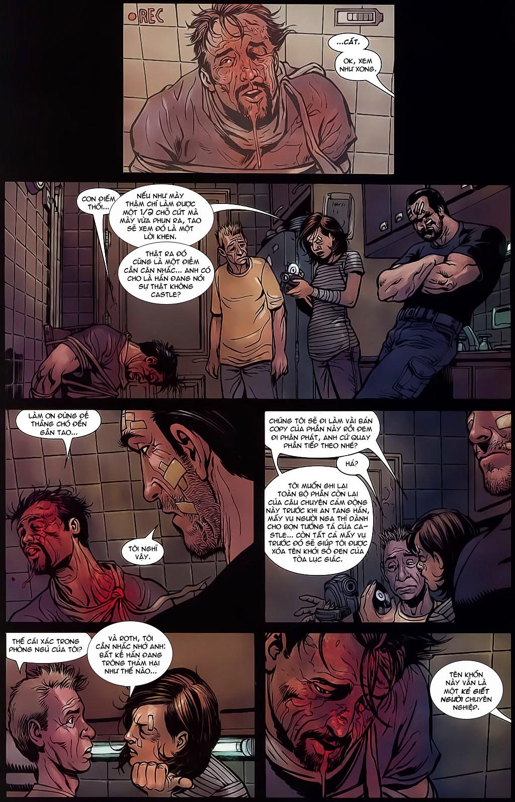 The Punisher: Trên là Dưới & Trắng là Đen chap 6 - Trang 13