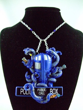 TARDIS Octopus Necklace from Something Like That