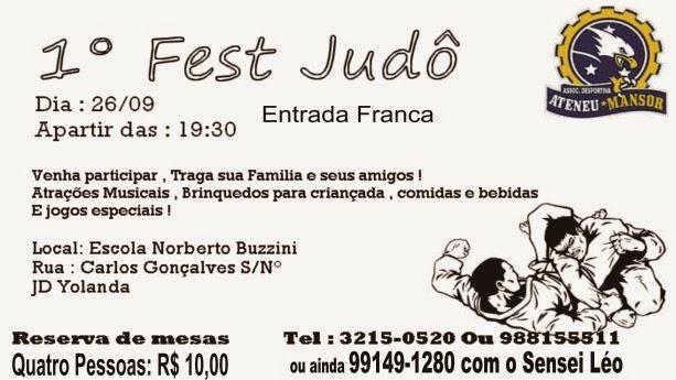 I Fest Judô