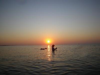 little gal in gulf sunrise.jpg