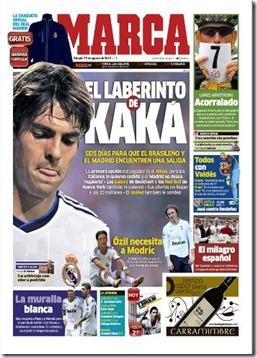 portada de marca el laberinto de kaká