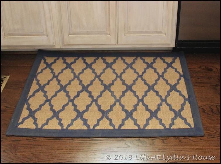 stenciled rug 1