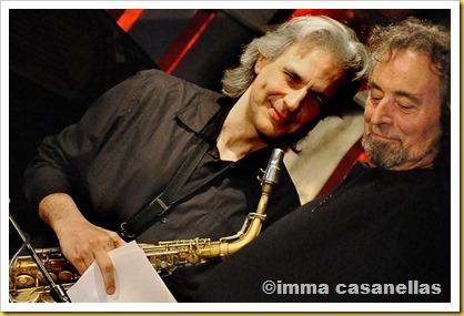 Perico Sambeat i Pere Rovira, Barcelona 2013
