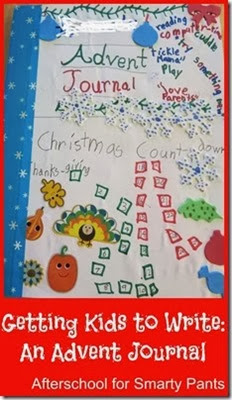 An Advent Journal from Afterschool for Smary Pants