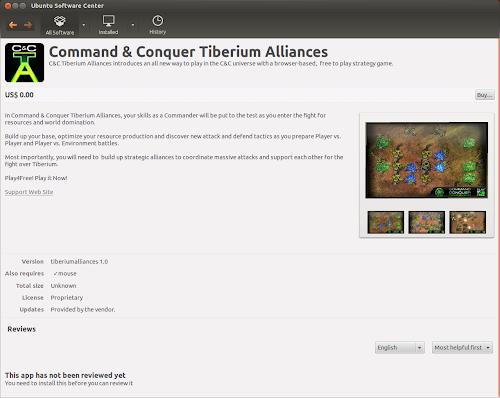EA Game / Ubuntu - Command & Conquer Tiberium Alliances