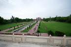 Les jardins Bageecha vu depuis le Taj