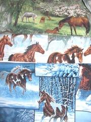 fabric horses 3 prints