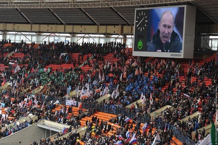 Митя идет на митинг, Петя идет на петтинг, а Путин идет на путинг