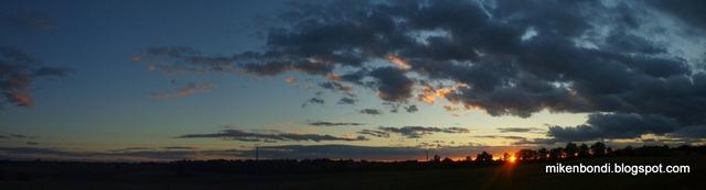 Gascon sunset
