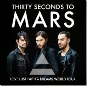 tour Mexico 30 thirty seconds to mars palacio de los deportes venta de boletos