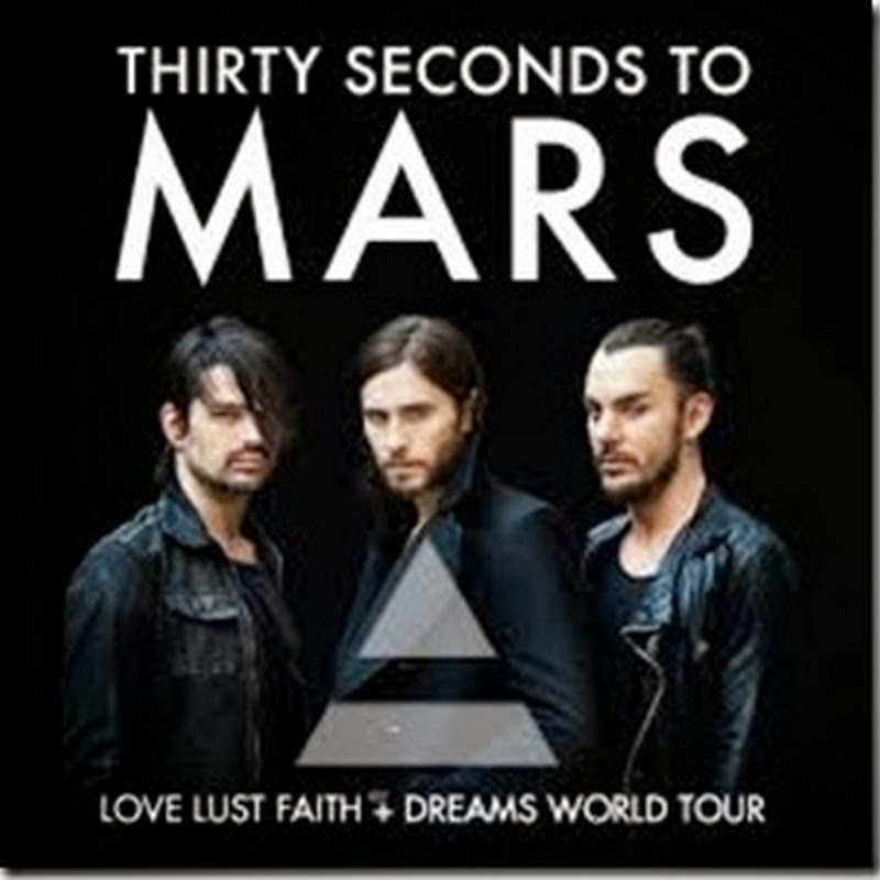 30 Seconds to Mars en Mexico 24/01/2014