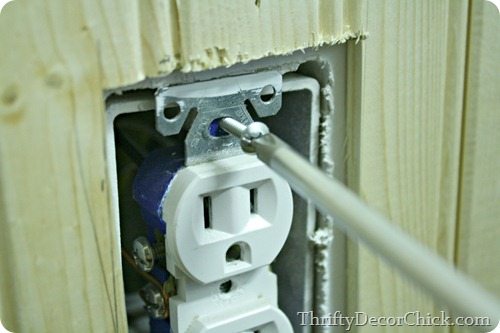 adding spacers to outlet