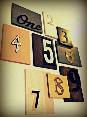 house number art instagram
