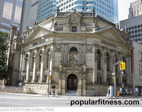 'Hockey Hall of Fame Toronto Architecture-history' photo (c) 2010, Peter Kudlacz - license: https://creativecommons.org/licenses/by/2.0/