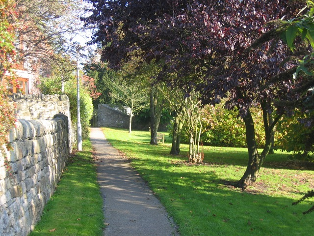 path to church from KGate