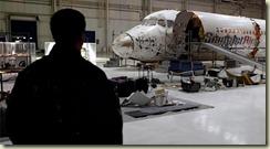 Flight Whip surveys the wreck