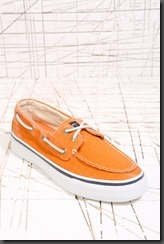 sperry bahama boat shoes orage 55 euro