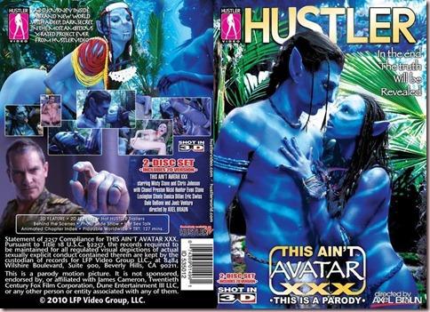 Carátula del DVD de This Ain't Avatar XXX