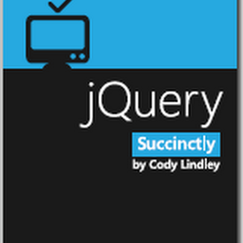Free eBooks: jQuery & Metro Apps