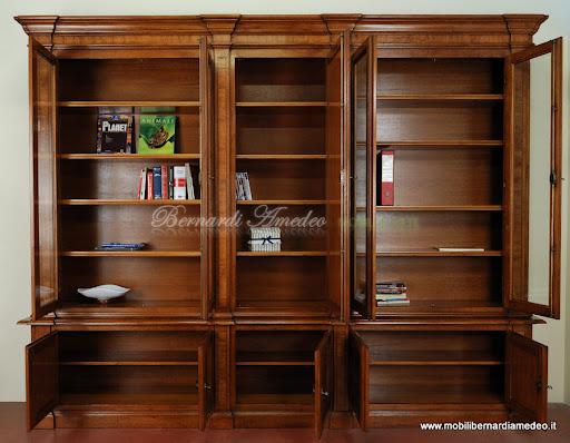 Bernardi amedeo mobili in legno arredamento in stile - Mobili libreria classica ...