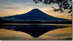 Monte Fuji recebe homenagens no seu primeiro dia de abertura para alpinistas