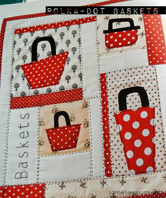 Little Quilts - Polka Dot Baskets by Amy Lobsiger
