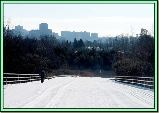 A view to Ottawa from Gatineau Parkway near P3