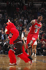 lebron james nba 130221 mia at chi 01 LeBron Debuts Prism Xs As Miami Heat Win 13th Straight