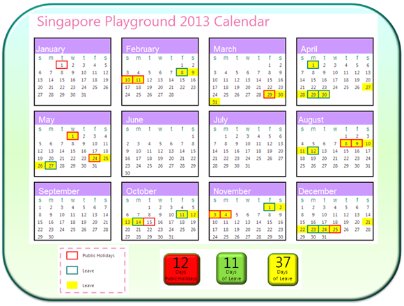 School Calendar Singapore : All holiday calendar search results