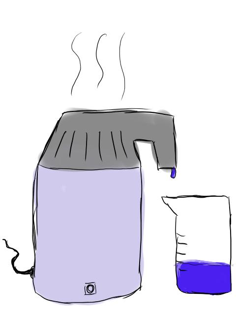 roh und fair sauberes wasser ohne gro en aufwand und kosten durch destillation. Black Bedroom Furniture Sets. Home Design Ideas