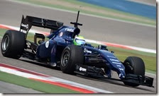 Massa nei test in Bahrain 2014