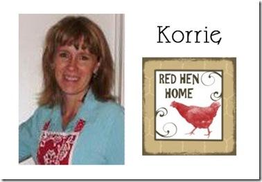 Korrie - Red Hen Home